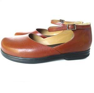 Birkenstocks Footprints Mary Jane Sz 39 8.5 Brown